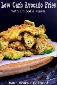 Pin this low carb avocado fries recipe for later!