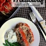 Pin this low carb meatloaf recipe for later!