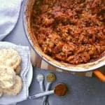This delicious and easy Leftover Turkey Chili will have you begging for more turkey dinners... just so you can make this dish again!