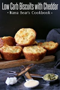 Pin this low carb biscuits recipe for later!