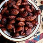 Pin this bbq roasted low carb almonds recipe for later!