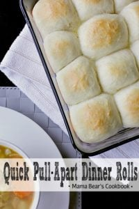Pin this Quick Pull-Apart Dinner Rolls recipe for later!