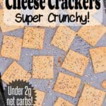 Pin this Keto Crackers recipe for later!