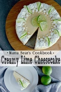 Pin this creamy lime cheesecake recipe for later!