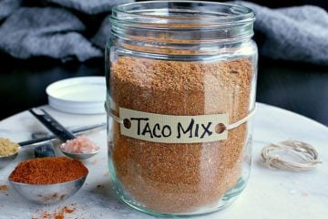 You'll never need to buy packaged taco mix again after trying this easy Homemade Low Carb Taco Seasoning. Make a single or large batch to keep on hand!