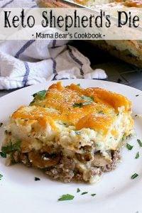 Pin this Keto Shepherd's Pie recipe for later!