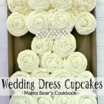 Pin this Wedding Dress Cupcakes recipe for later!