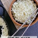 Pin this cauliflower rice recipe for later!