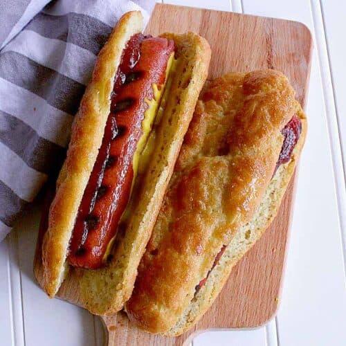Keto Hot Dog Buns Mama Bear S Cookbook