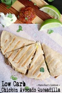 Pin this Low Carb Quesadilla recipe for later!
