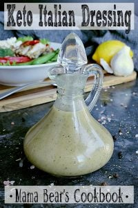 Pin this Keto Italian Dressing recipe for later!
