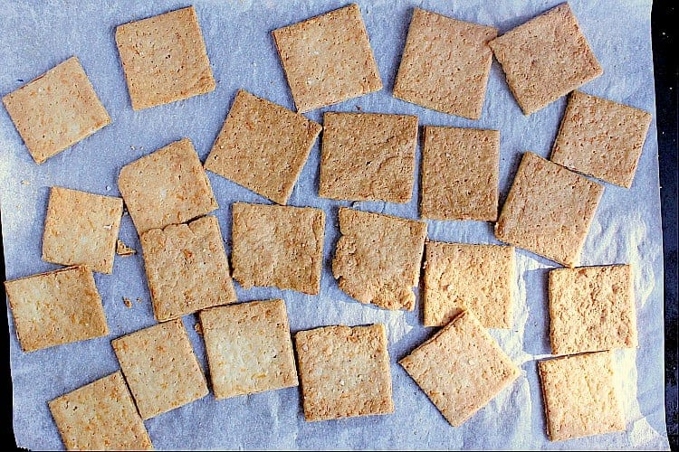 Cooling crackers.