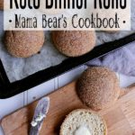Pin this keto dinner rolls recipe for later!