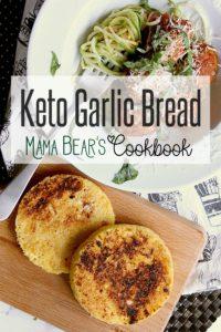 Pin this keto garlic bread recipe for later!