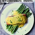 Pin this Keto Hollandaise Sauce recipe for later!