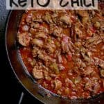 Pin this Keto Chili recipe for later!
