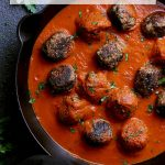 Pin this recipe for skillet keto meatballs for later!