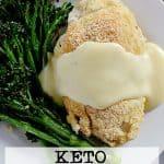 Pin this Keto Chicken Cordon Bleu recipe for later!