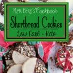 Pin this Keto Shortbread Cookies recipe for later!