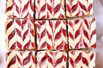 9 keto cheesecake bars. text reads Mama bear's Cookbook.